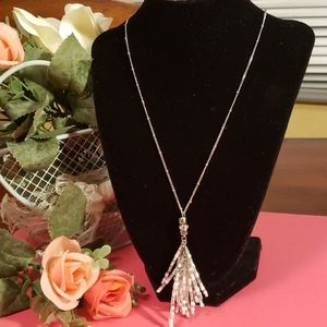 3x$10 Express new long necklace.